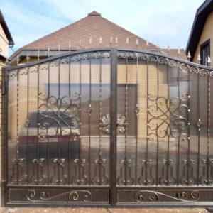 Кованые ворота Кованые ворота Джон Арт. В-010 Norkovka