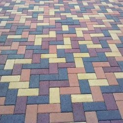 Тротуарная плитка Брусчатка (кирпичик) Norkovka