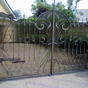 Кованые ворота Кованые ворота Виктор Арт. В-013 Norkovka